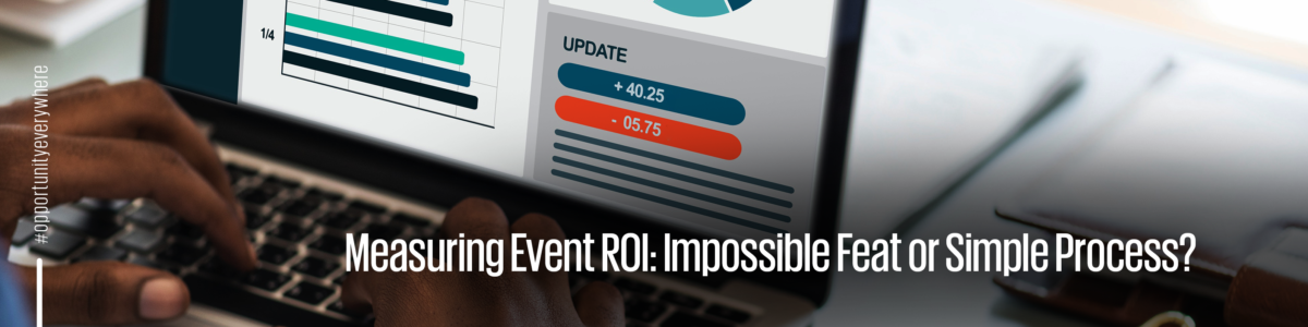 Measuring event ROI