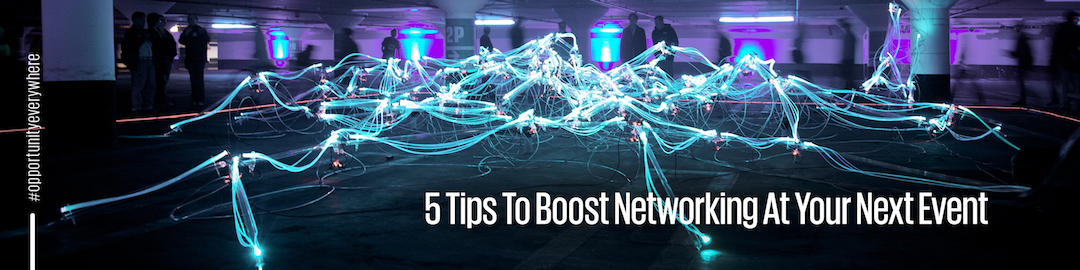 How to boost event networking