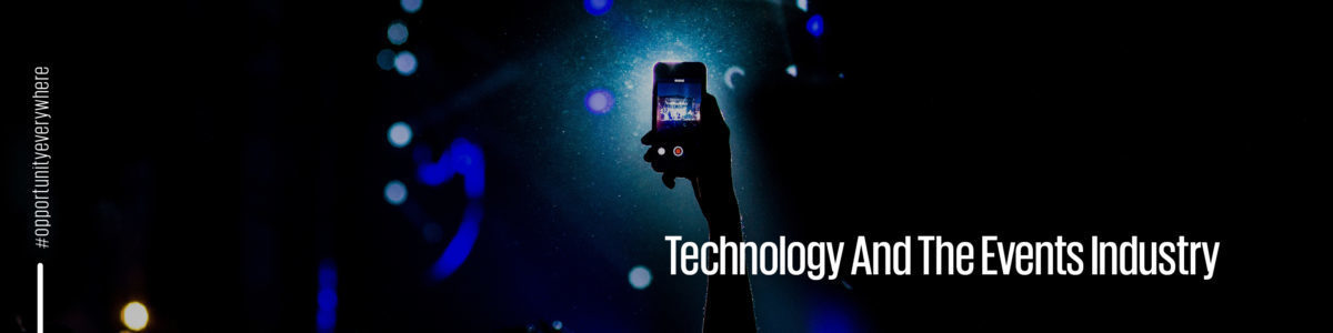 Technology and the events industry