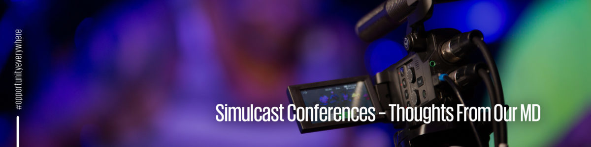 Simulcasting and events