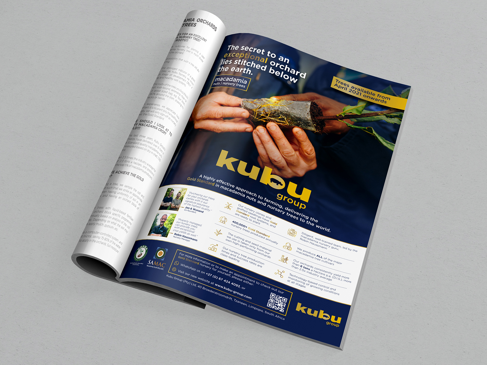 Kubu Group Magazine Advert