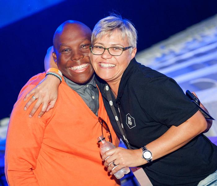 Vusi Thembekwayo & Kim